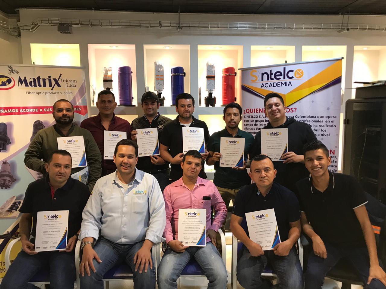 Certificaciones Matrix telcom
