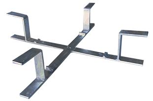 Cruceta para reserva de cable fibra óptica MCRC